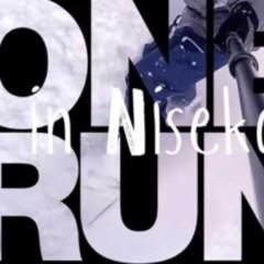 One Run in Niseko, Japan